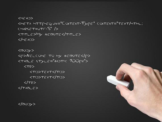 O código HTML é uma linguagem de marcação utilizada para criar páginas na internet.  Fonte: WixBlog