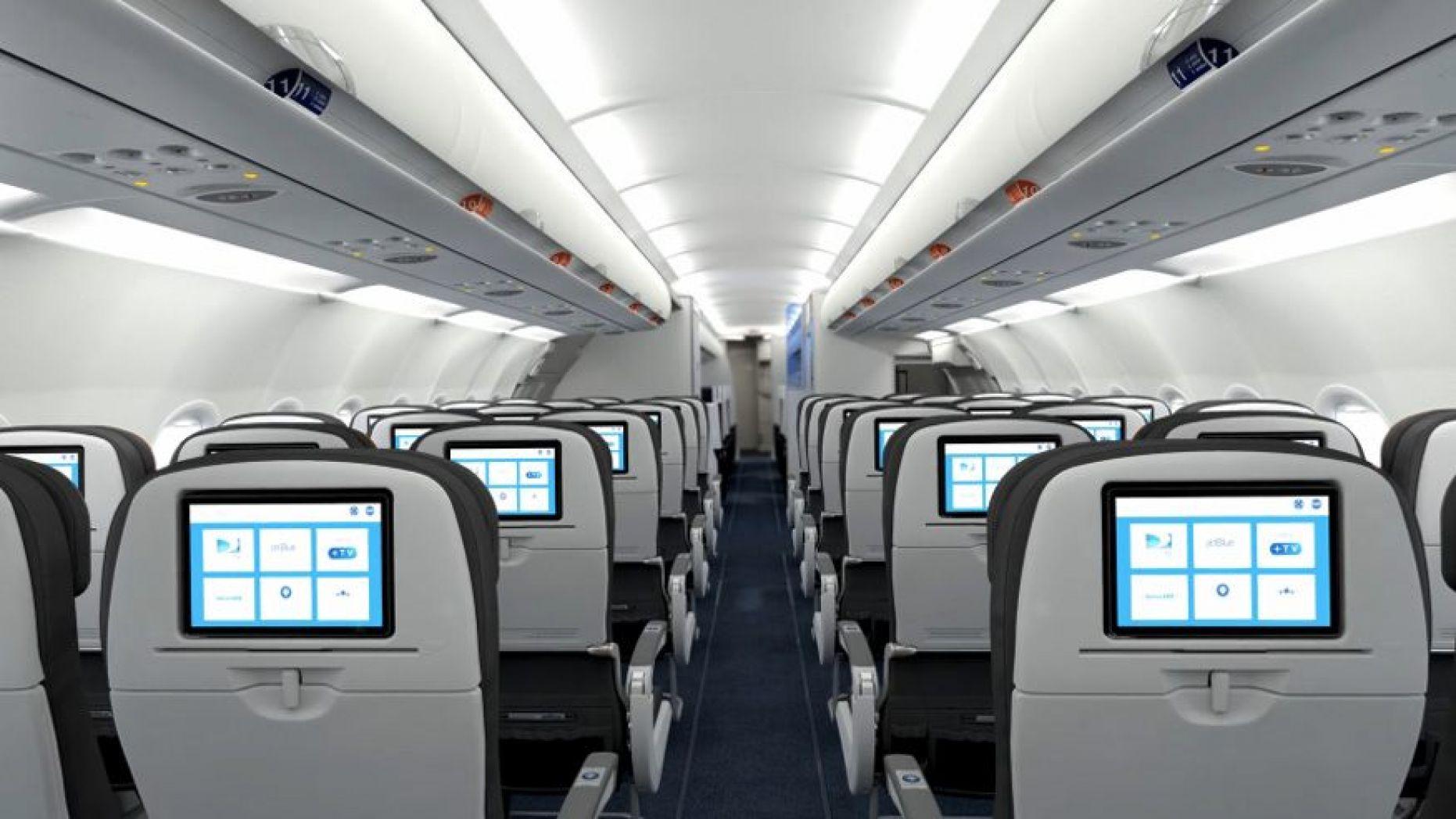 As longas viagens de avião podem se transformar em horas-aula (Foto: JetBlue)