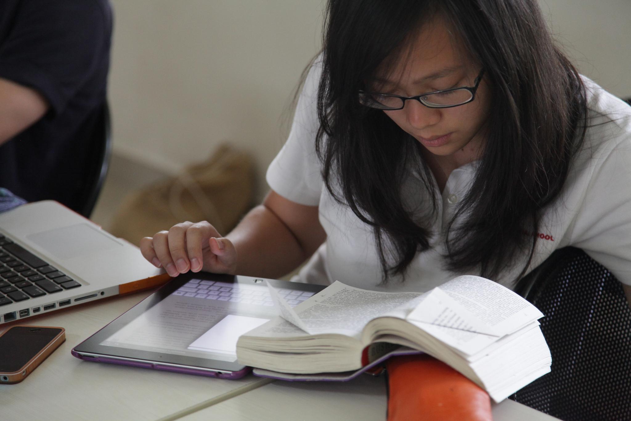 Estudando em casa