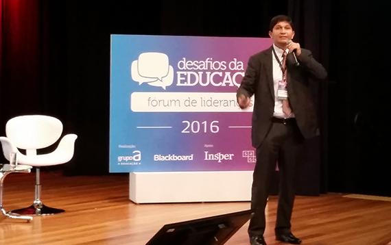 """""""Inovação é uma mudança cultural"""", diz o professor Oswaldo Tristán"""