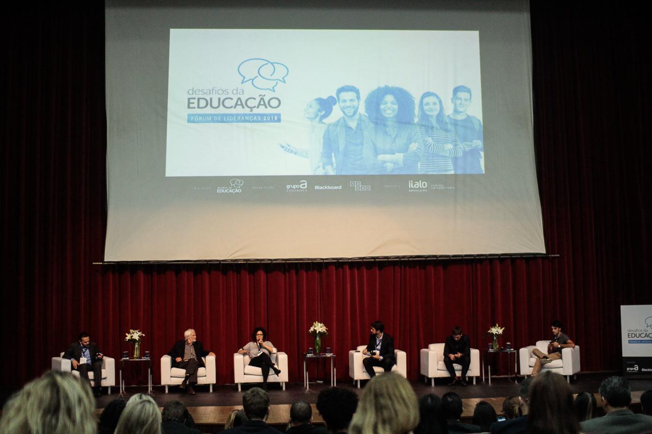 Fórum de Lideranças: Desafios da Educação 2018 reuniu professores e gestores para debater novas formas de aprendizagem, reinvenção do mercado e outros temas relacionados ao ensino superior