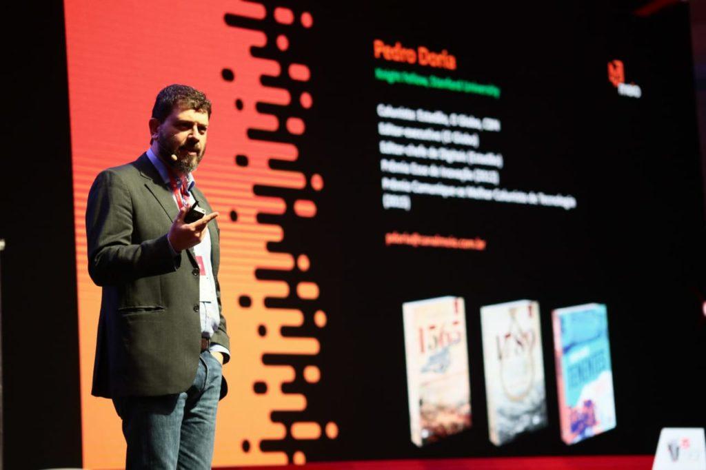 Pedro Dória, jornalista e escritor (Foto: Guilherme Veloso/Fnesp)