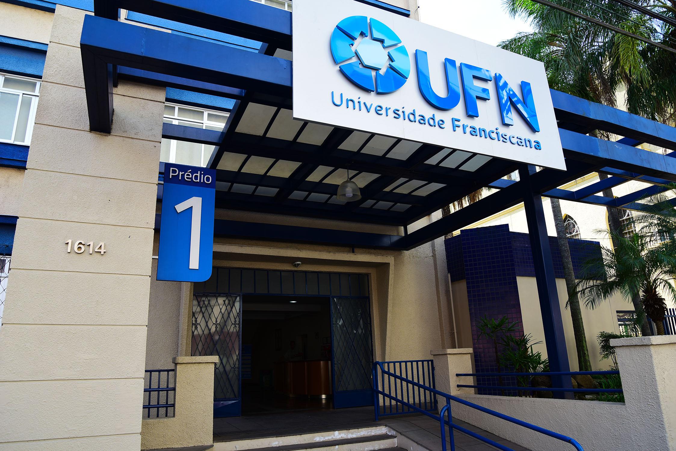 Fachada da UFN, em Santa Maria (Foto: Divulgação)