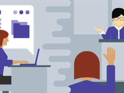 No blended learning, ou ensino híbrido, a tecnologia não apenas soma, mas transforma o processo de aprendizagem (Foto: Lynda.com)