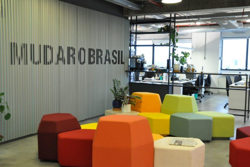 Escritória da Fundação Lemann, em São Paulo. Crédito: divulgação.