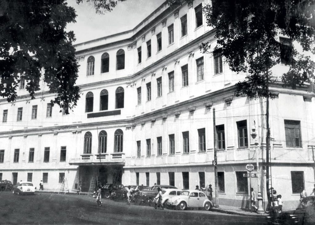 Faculdade Nacional de Direito da UFRJ.
