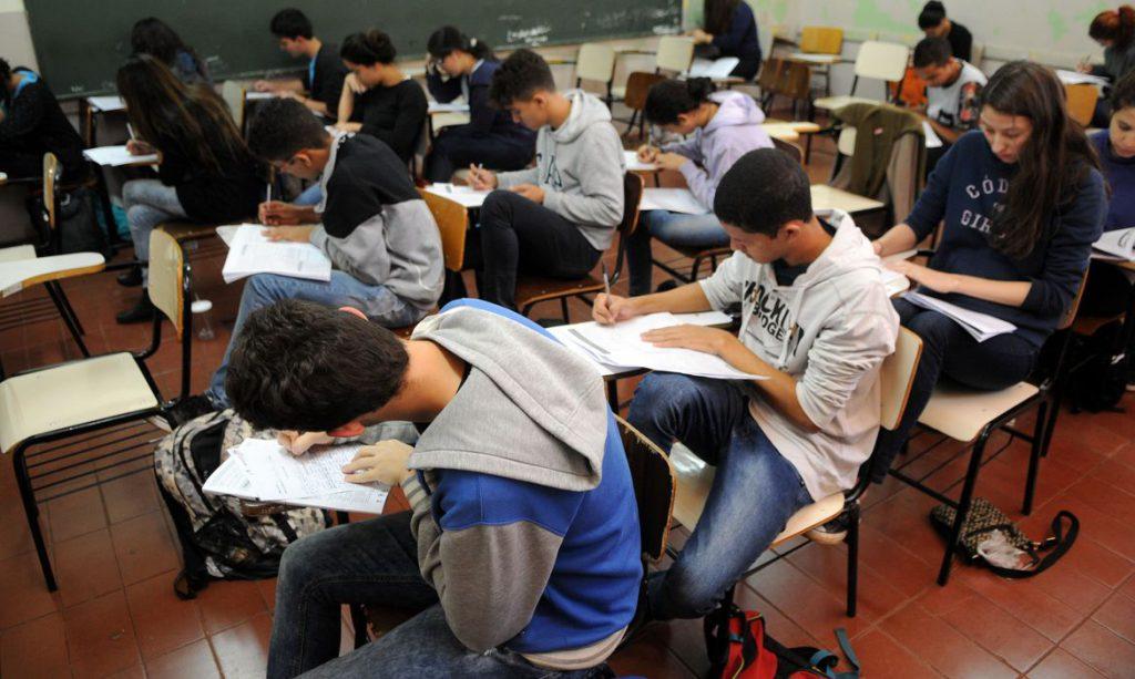O ensino médio teve, em 2019, o maior salto no Ideb. Crédito: Gabriel Jabur/Agência Brasília.