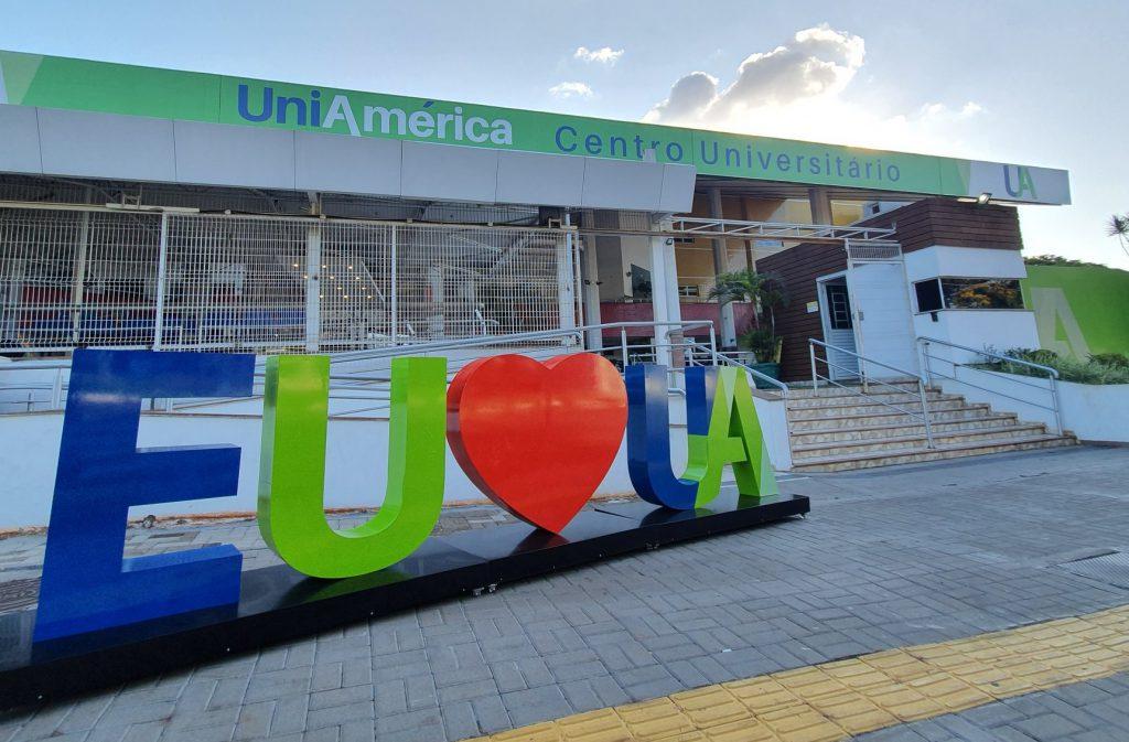 Sede da Uniamérica, em Foz do Iguaçu. Crédito: divulgação.
