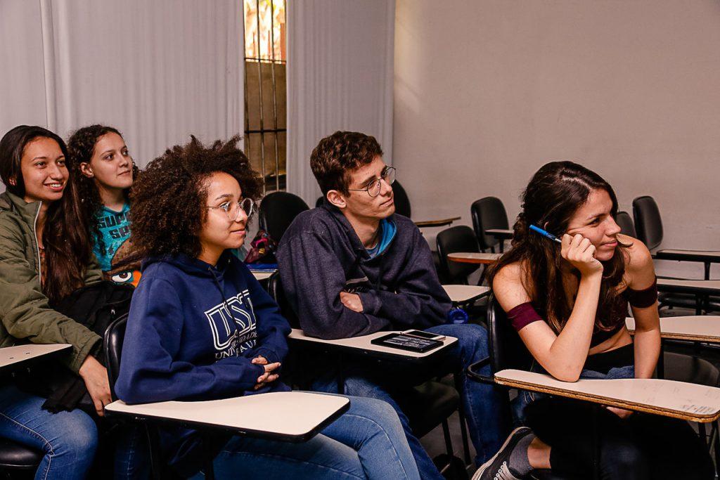 Direito, Administração e Enfermagem são as graduações mais procuradas pelos jovens brasileiros. Crédito: Cecilia Bastos/USP imagens.