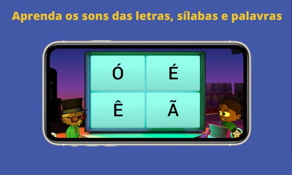 O lançamento do jogo virtual no Brasil é uma ação do MEC, no âmbito da Política Nacional de Alfabetização e do programa Tempo de Aprender. Crédito: Divulgação.