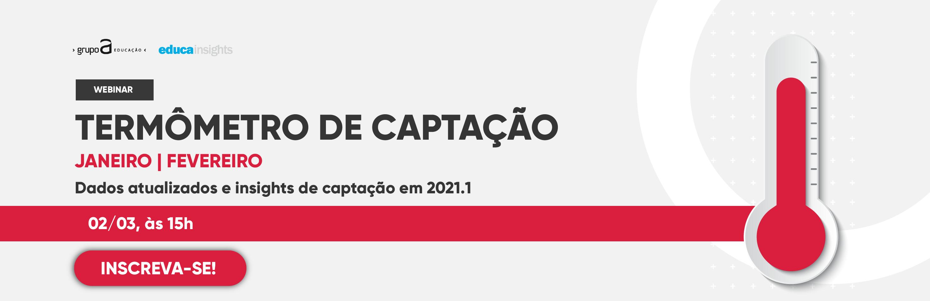 Webinar | Inscreva-se agora mesmo no webinar de captação 2021.1