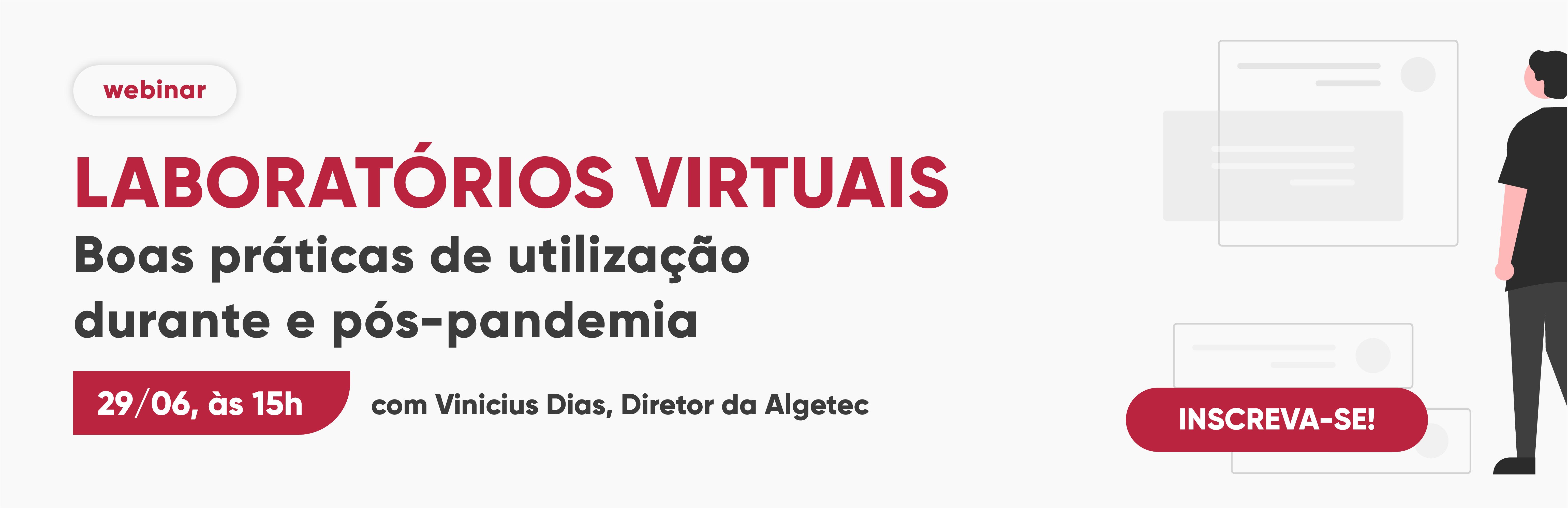 Webinar   Laboratórios virtuais